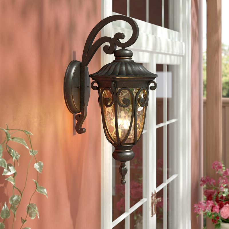 Well Known Astoria Grand Erickson 3 Light Outdoor Wall Lantern With Mcdonough Wall Lanterns (View 10 of 15)