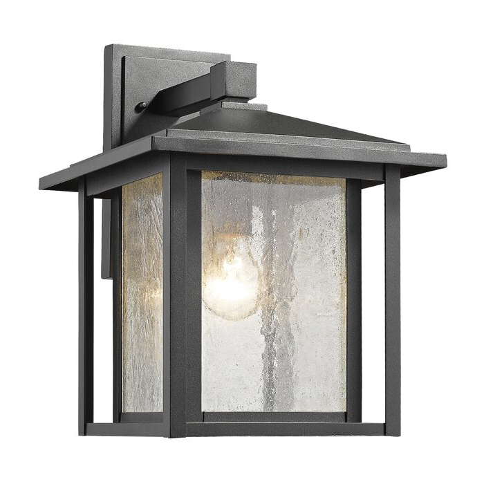 Well Known Hungate 1 Light Outdoor Wall Lantern & Reviews (View 15 of 15)