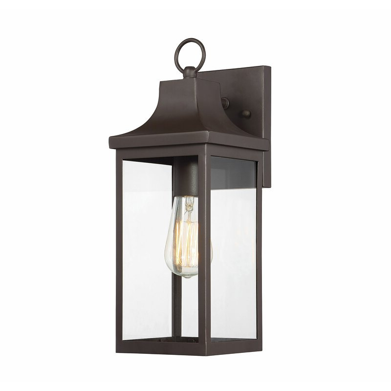 Featured Photo of Jordy Oil Rubbed Bronze 15.25'' H Outdoor Wall Lanterns