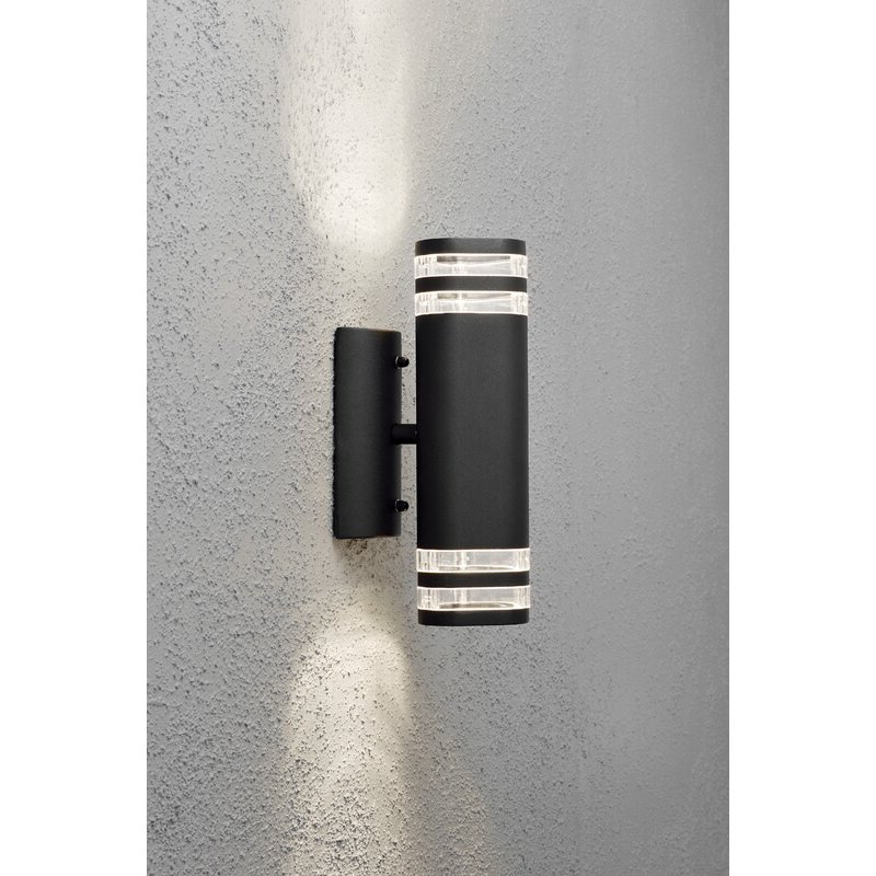 Well Known Konstsmide Modena Modern Double Outdoor Armed Sconce For Dedmon Outdoor Armed Sconces (View 2 of 15)
