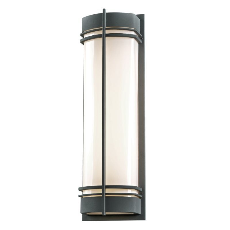 """Well Known Plc Lighting 16677 2 Light 8.75"""" Wide Outdoor Wall Sconce With Regard To Carner  (View 6 of 15)"""