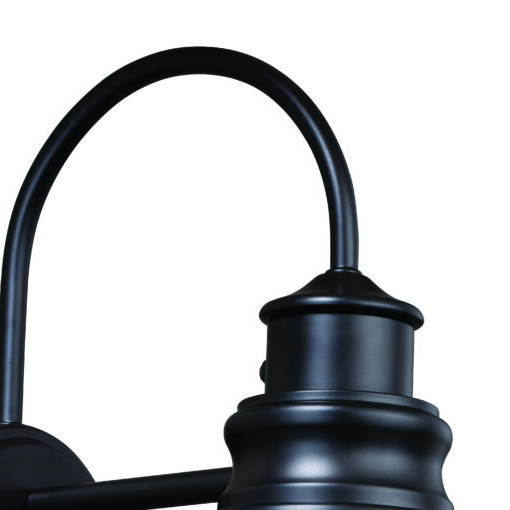Well Known Ranbir Oil Burnished Bronze Outdoor Barn Lights With Dusk To Dawn Within Delano 11 In Outdoor Wall Light Oil Burnished Bronze And (View 10 of 15)