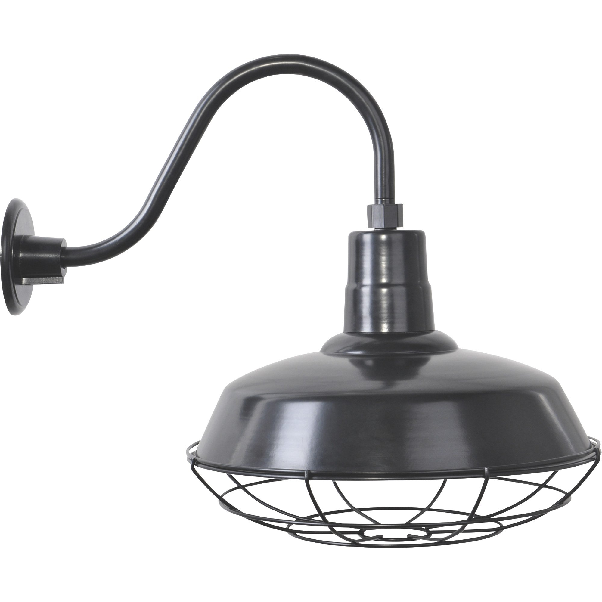 Well Known Strongway Multi Mount Outdoor/indoor Barn Light — 16in Inside Arryonna Outdoor Barn Lights (View 7 of 15)