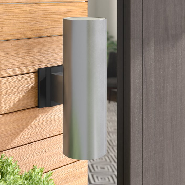 Well Known Wade Logan® Atalanta 2 Light Outdoor Armed Sconce With Dedmon Outdoor Armed Sconces (View 13 of 15)