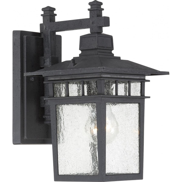 Well Liked Socorro Black 8.25'' H Outdoor Wall Lanterns Throughout Shop Boxwood 1 Light 15 In (View 12 of 15)