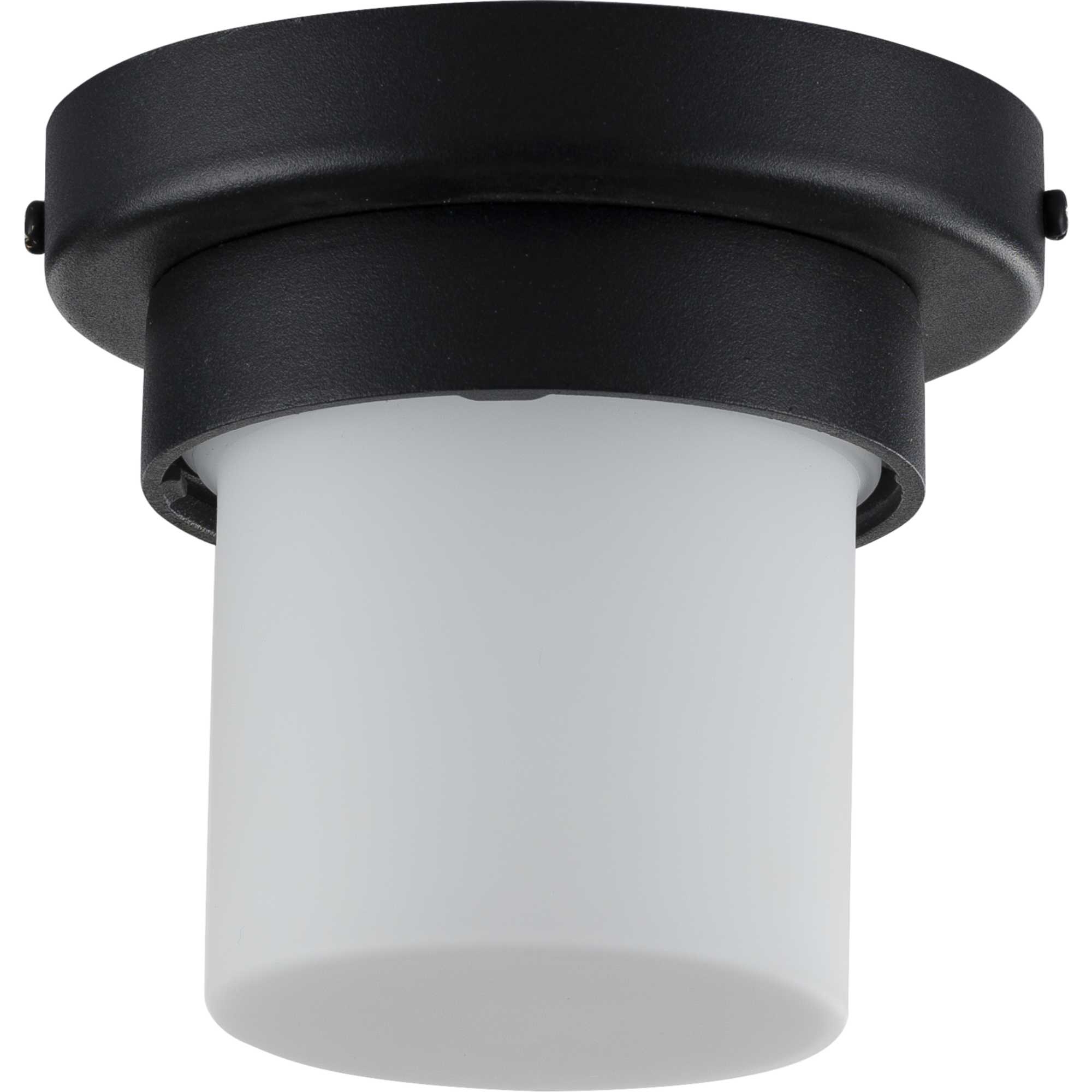 """Whisnant Black Integrated Led Frosted Glass Outdoor Flush Mount Regarding Well Known Progress Lighting P550071 30 5""""w Led Outdoor Flush Mount (View 11 of 15)"""