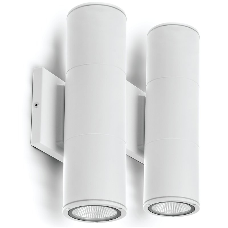 """Widely Used Dedmon Outdoor Armed Sconces Throughout Latitude Run® Chazz 12"""" H Integrated Led Outdoor Armed (View 12 of 15)"""