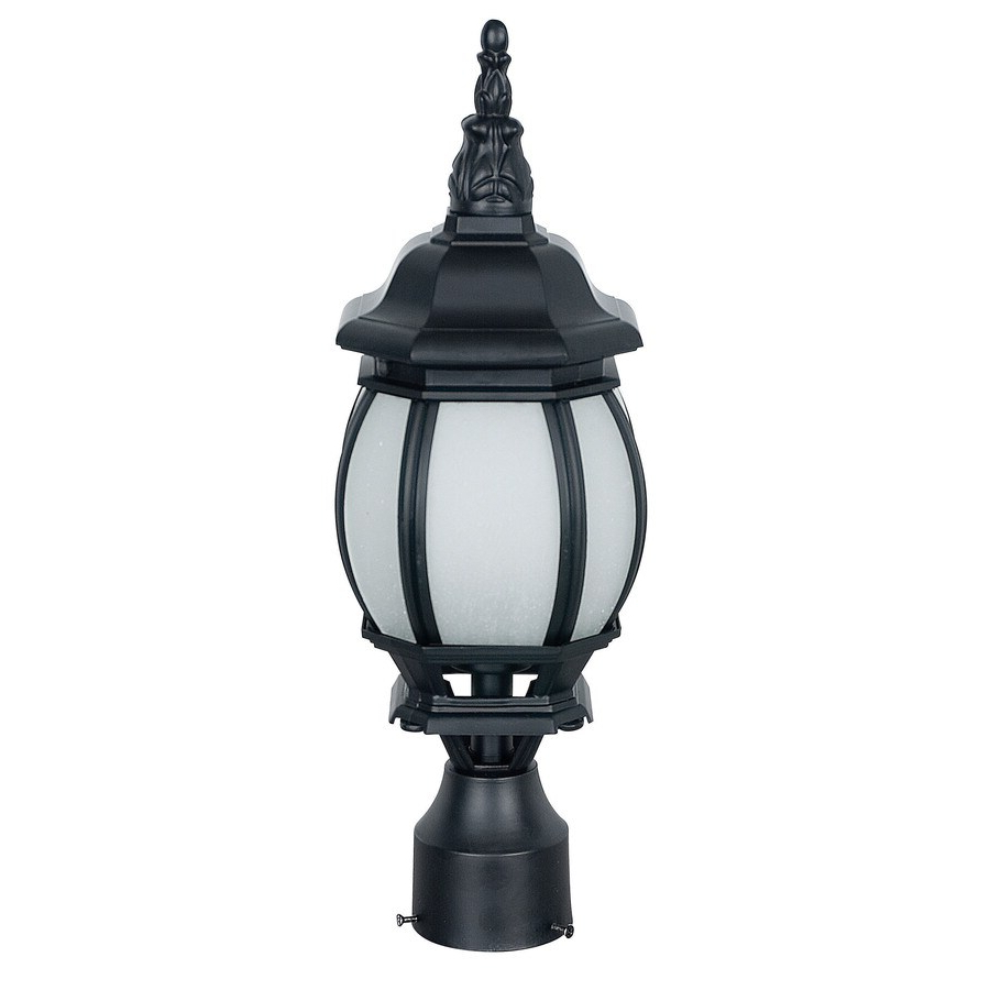 Widely Used Shop Ashton 14.25 In H Black Dark Sky Outdoor Wall Light With Castellanos Black  (View 2 of 15)