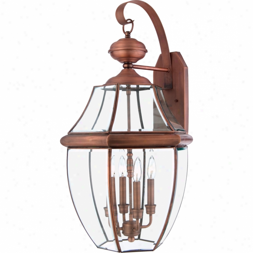 Widely Used Tf702tvb – Quoizel – Tf702tvb > Table Lamps @ The Home Intended For Faunce 12'' H Beveled Glass Outdoor Wall Lanterns (View 8 of 15)