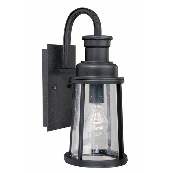 You'll Love The Belinda 1 Light Outdoor Wall Lantern At Pertaining To Recent Clarisa Seeded Glass Outdoor Barn Lights With Dusk To Dawn (View 13 of 15)