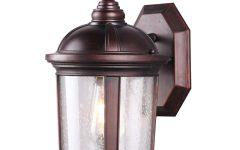 1 – Bulb Outdoor Wall Lanterns