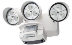 Lithonia Lighting Wall Mount Outdoor White Led Floodlight With Motion Sensor