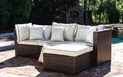 Burruss Patio Sectionals with Cushions