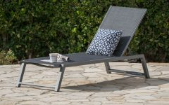 Myers Outdoor Aluminum Mesh Chaise Lounges