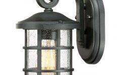 Ainsworth Earth Black Outdoor Wall Lanterns