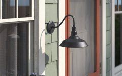 Aleena 9.88'' H Outdoor Barn Lights