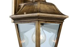 Antique Brass Outdoor Lighting