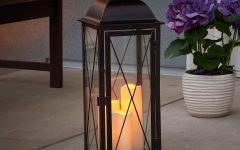 Outdoor Lanterns with Led Candles