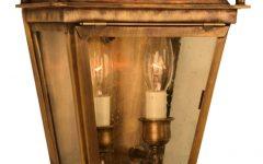 Cowhill Dark Bronze 15.5'' H Wall Lanterns