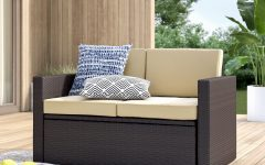 Belton Loveseats with Cushions