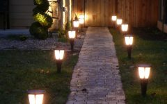 Contemporary Solar Garden Lighting Fixtures