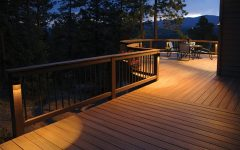 Modern Low Voltage Deck Lighting