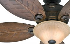 Outdoor Ceiling Fans with Tropical Lights