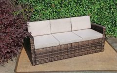 Silloth Patio Sofas With Cushions