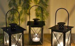 Outdoor Tea Light Lanterns