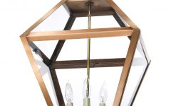 Copper Outdoor Electric Lanterns