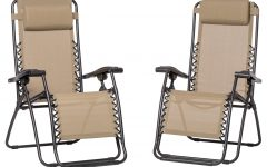 Caravan Sportsbeige Zero-Gravity Chairs