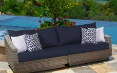 Castelli Patio Sofas With Sunbrella Cushions
