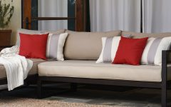 Catalina Outdoor Right Arm Sectional Pieces with Cushions