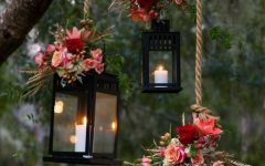 Outdoor Hanging Lanterns for Wedding
