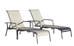 Cosco Outdoor Aluminum Chaise Lounge Chairs