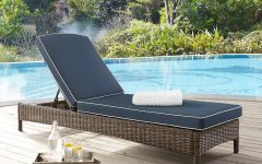 Bradenton Outdoor Wicker Chaise Lounges with Cushions