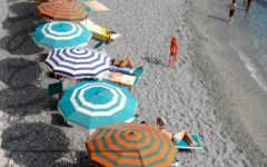 Italian Beach Umbrellas