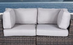 Dayse Contemporary Loveseats With Cushion