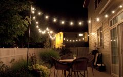 Hanging Outdoor Lights Without Trees