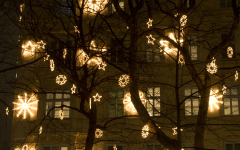 Outdoor Hanging Lights for Trees