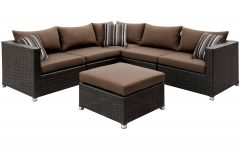 Baca Patio Sofas with Cushions