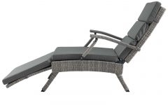 Envisage Chaise Outdoor Patio Wicker Rattan Lounge Chairs
