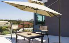 Fazeley  Rectangular Cantilever Umbrellas