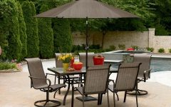 Patio Furniture Sets with Umbrellas