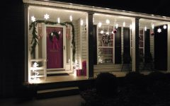 Outdoor Hanging Snowflake Lights