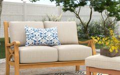 Brunswick Teak Loveseats with Cushions
