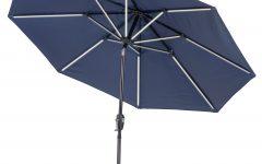 Hettie Solar Lighted Market Umbrellas