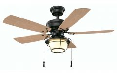 Outdoor Ceiling Fans with Pull Chain