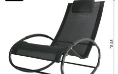 Orbital Patio Lounger Rocking Chairs