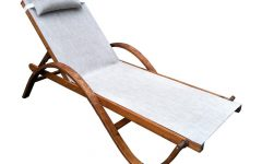 Reclining Sling Chaise Lounges